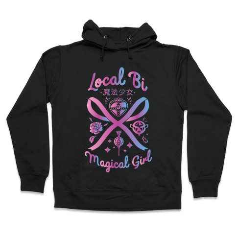 Local Bi Magical Girl Hooded Sweatshirt