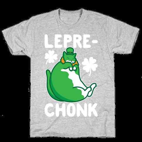 LepreCHONK Cat Mens/Unisex T-Shirt