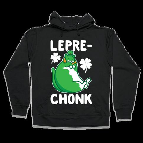 LepreCHONK Cat Hooded Sweatshirt