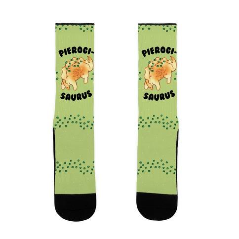 Pierogisaurus Sock