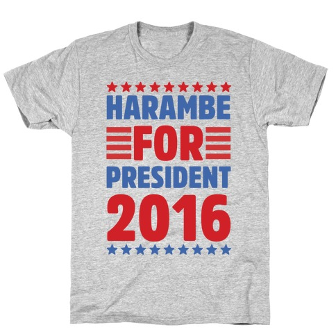 Harambe For President 2016 T-Shirt