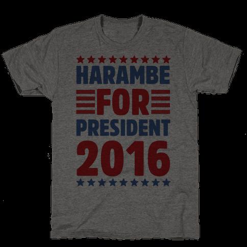 Harambe For President 2016