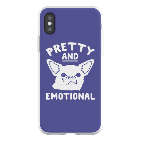 Pretty and Emotional Phone Flexi-Case
