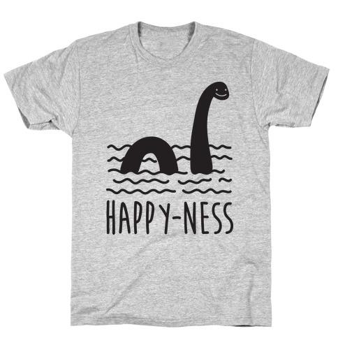 Happy-Ness Loch Ness Monster T-Shirt
