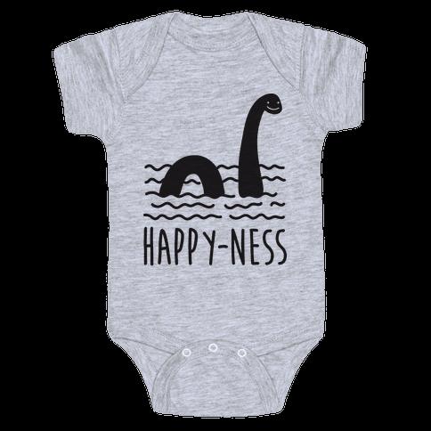 Happy-Ness Loch Ness Monster Baby Onesy