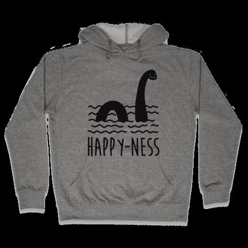 Happy-Ness Loch Ness Monster Hooded Sweatshirt