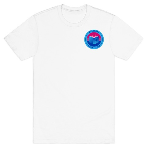 Bisexual Book Club Patch Version 2 T-Shirt