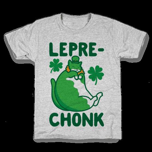 LepreCHONK Cat Kids T-Shirt