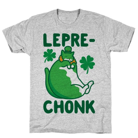 LepreCHONK Cat T-Shirt