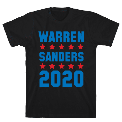 Warren Sanders 2020 Mens T-Shirt