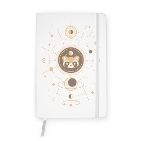 Raccoon Moon Notebook