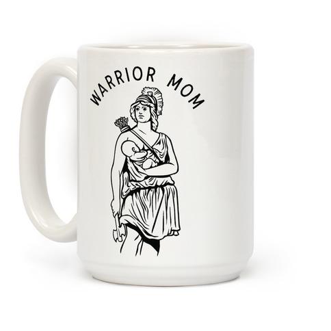 Warrior Mom Coffee Mug