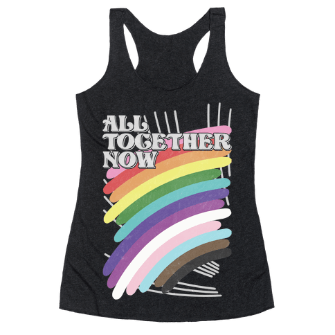 All Together Now Racerback Tank Top