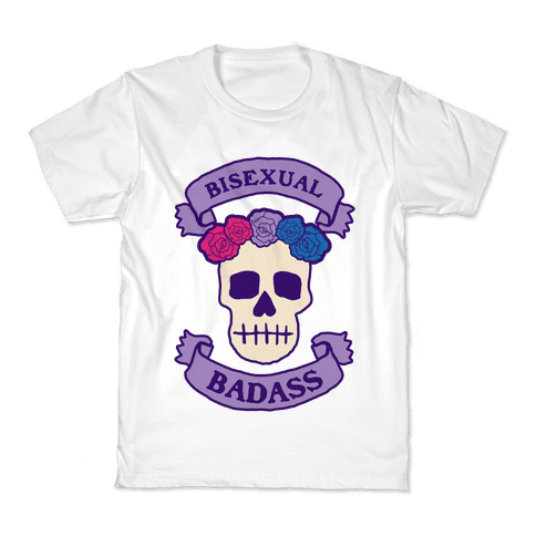 Bisexual Badass Kids T-Shirt