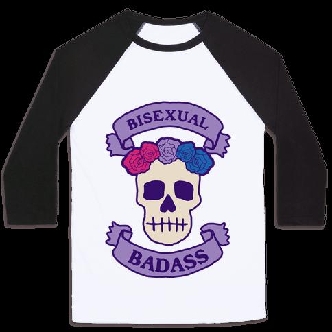 Bisexual Badass Baseball Tee