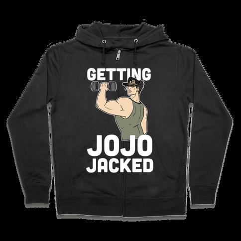 Getting Jojo-Jacked Zip Hoodie