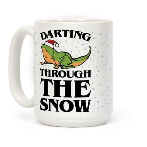 Darting Through The Snow Parody Coffee Mug