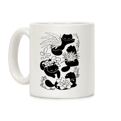 Succulent Cats Coffee Mug