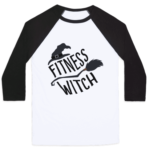 Fitness Witch Baseball Tee