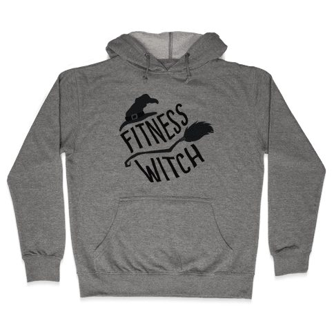 Fitness Witch Hooded Sweatshirt