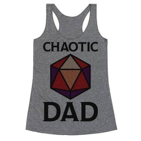 Chaotic Dad Racerback Tank Top