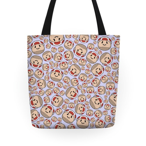 Stuffed Shrooms Pattern Tote