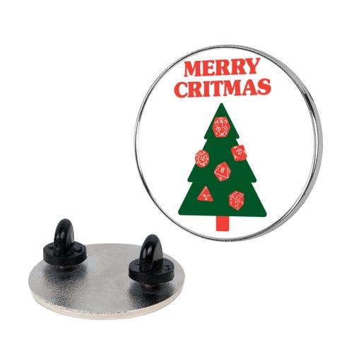 Merry Critmas pin