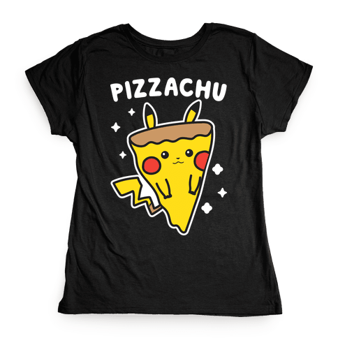 Pizzachu Parody Womens T-Shirt
