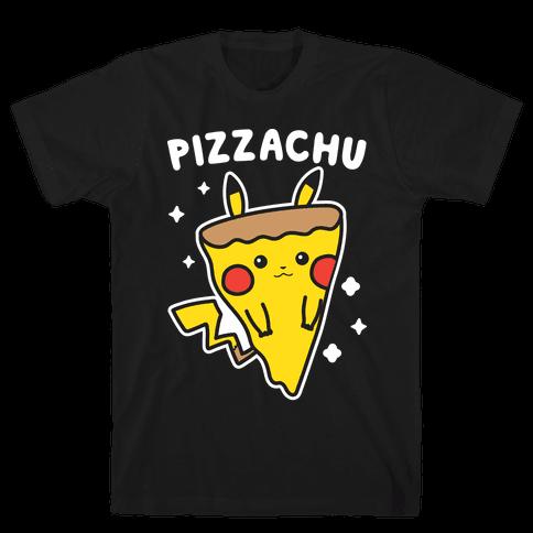 Pizzachu Parody Mens/Unisex T-Shirt