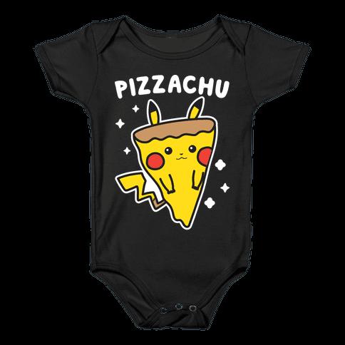 Pizzachu Parody Baby Onesy