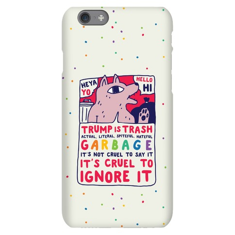 Trump Is Trash Comic Phone Case
