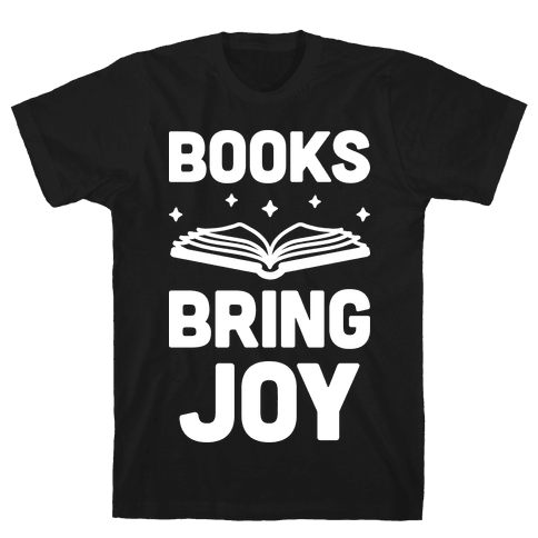 Books Bring Joy Mens T-Shirt