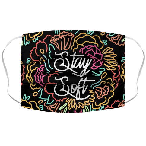 Stay Soft Accordion Face Mask