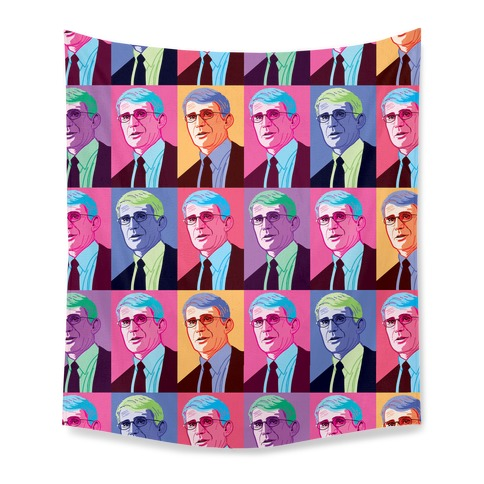 Anthony Fauci Pop Art Tapestry