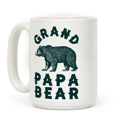 Grandpapa Bear Coffee Mug