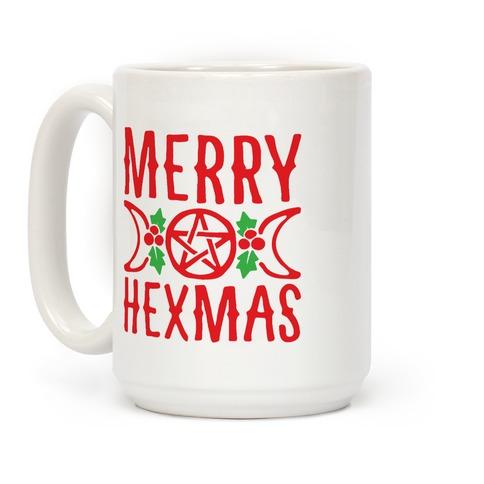 Merry Hexmas Parody Coffee Mug