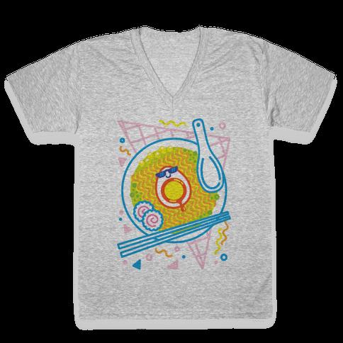 Rad-men (Rad Ramen) V-Neck Tee Shirt