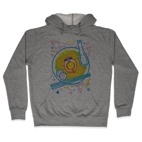 Rad-men (Rad Ramen) Hooded Sweatshirt