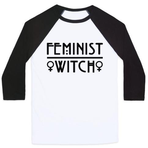 Feminist Witch Baseball Tee