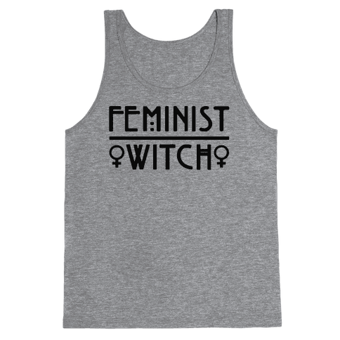 Feminist Witch  Tank Top