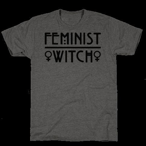 Feminist Witch Mens/Unisex T-Shirt