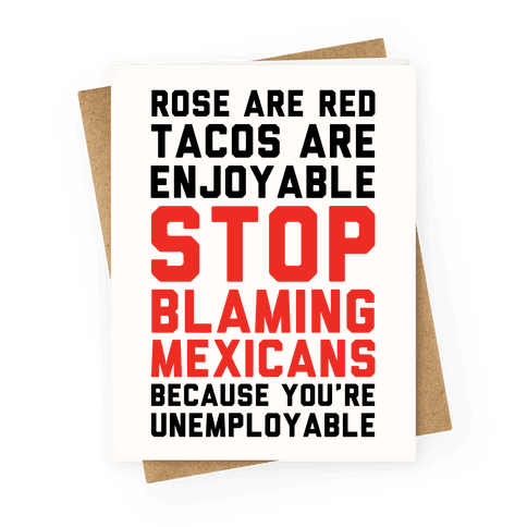 Rose are Red Tacos Are Enjoyable