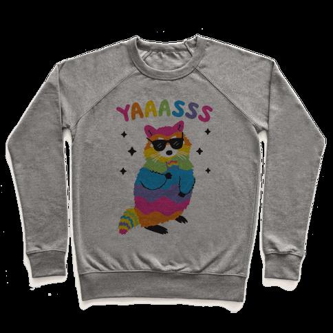 Yas Rainbow Raccoon Pullover