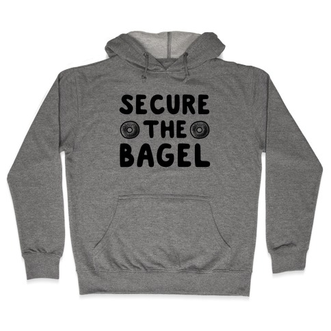 Secure the Bagel Hooded Sweatshirt