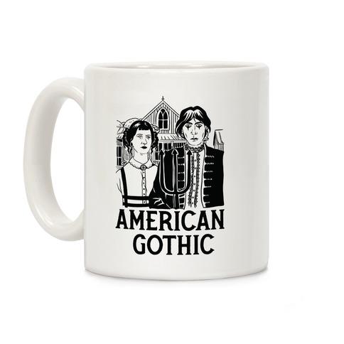 American Gothic Mall Goths Coffee Mug
