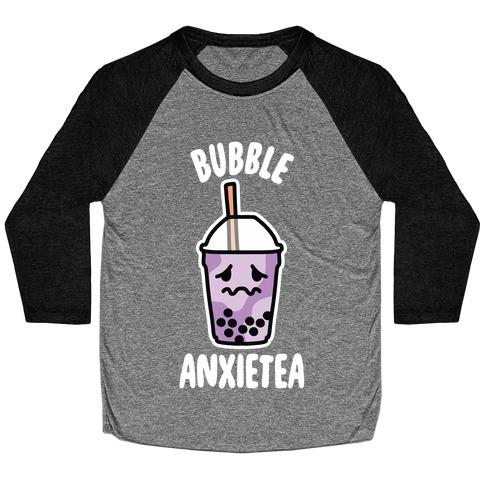 Bubble Anxietea Baseball Tee