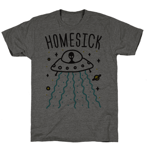 Homesick Alien Mens T-Shirt