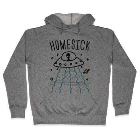 Homesick Alien Hooded Sweatshirt