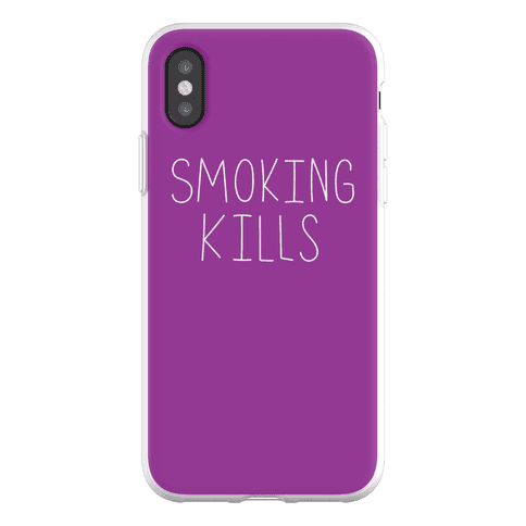 Smoking Kills Phone Flexi-Case