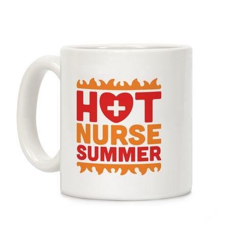 Hot Nurse Summer Parody Coffee Mug